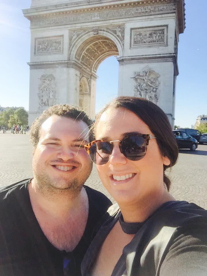 Luxury honeymoon in Paris