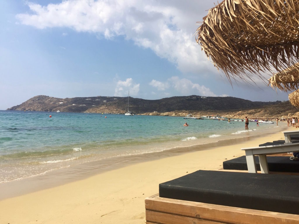 Luxe vacations in Elia Beach, Mykonos