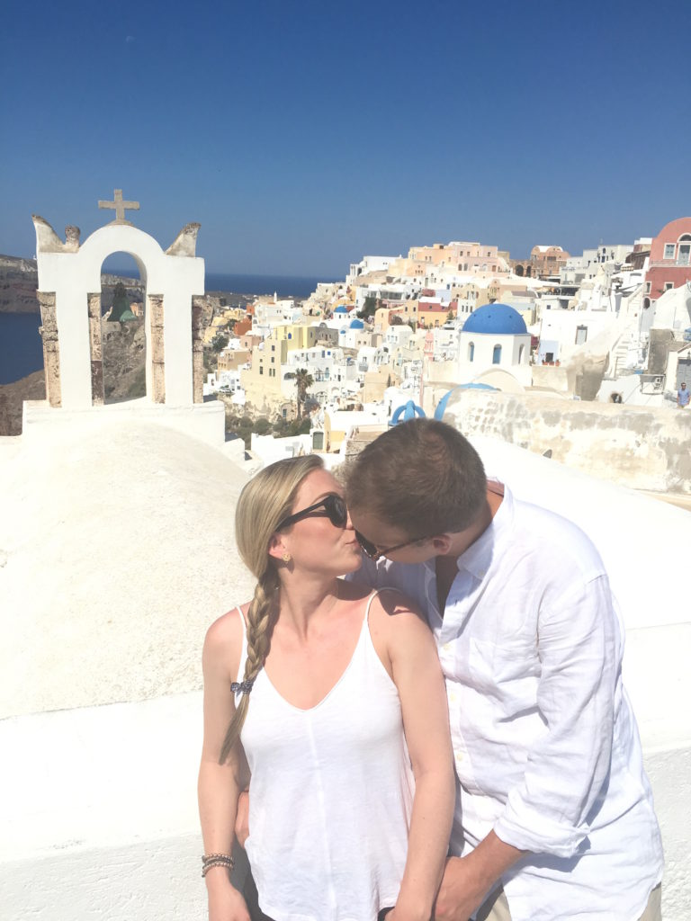 Luxury honeymoon in Santorini, Greece