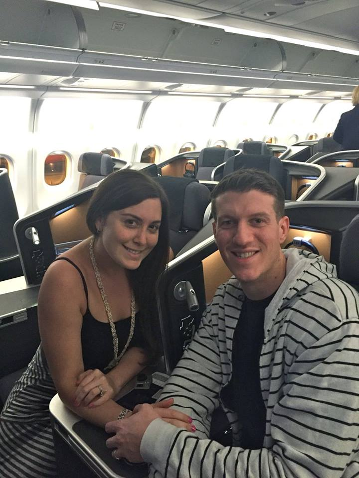 honeymoon business class