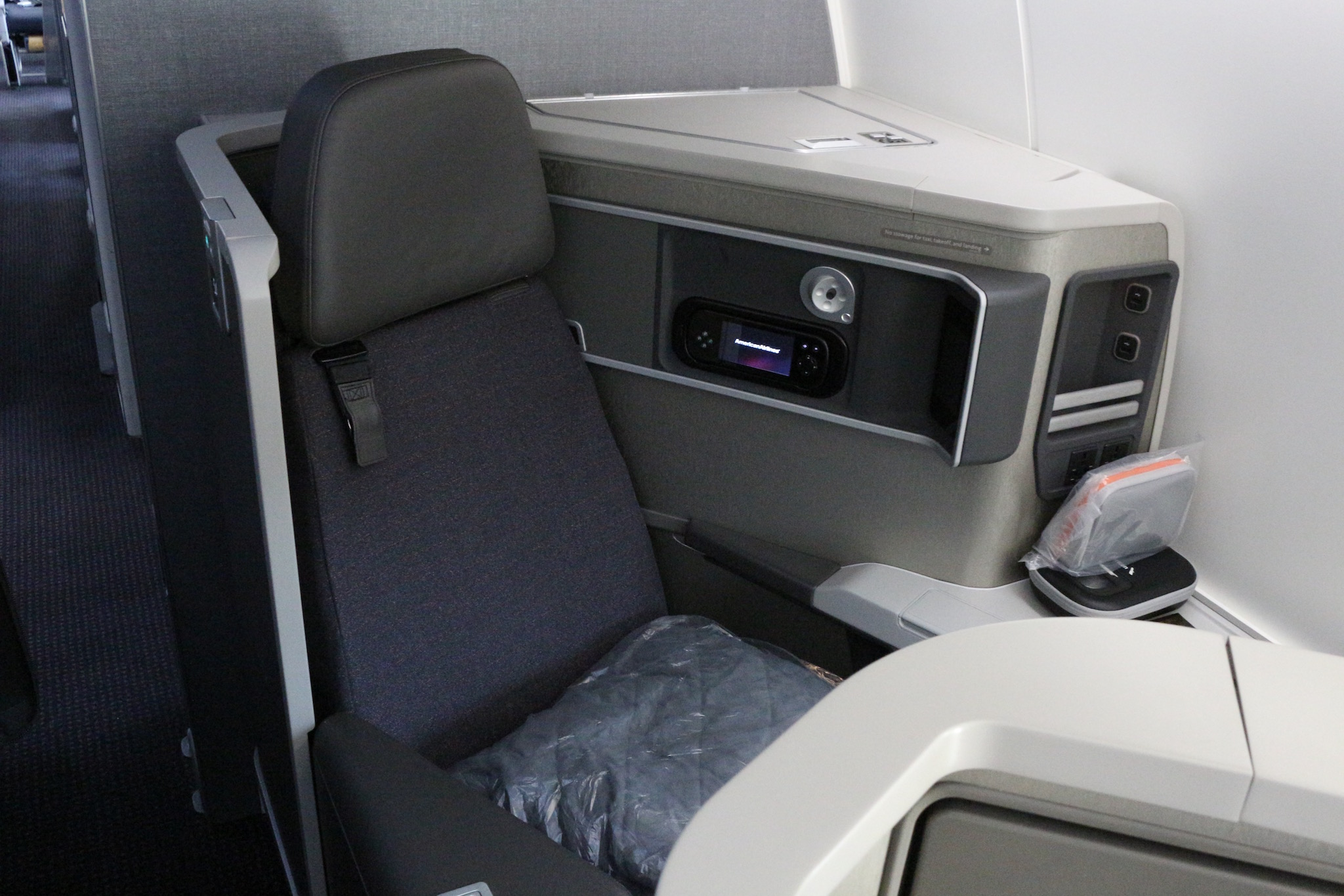 AA business class 787 review